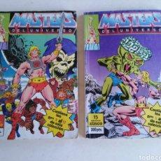 Cómics: LOTE DE 2 CÓMIC MASTER DEL UNIVERSO ( EDICIONES ZINCO ). Lote 218980001