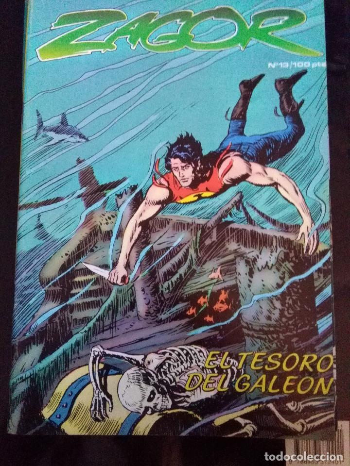 ZAGOR 13 (Tebeos y Comics - Zinco - Otros)