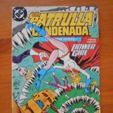 Comics: LA PATRULLA CONDENADA Nº 13 - DOOM PATROL - DC - ZINCO (8Y). Lote 219069037