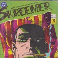 Cómics: COMIC DC SKREEMER Nº 1 ED. ZINCO. Lote 219093087