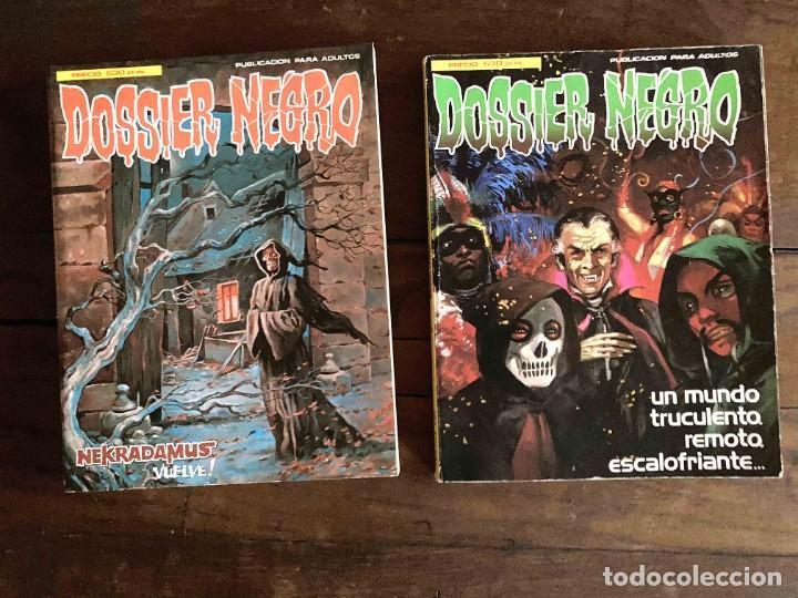 DOSSIER NEGRO (Tebeos y Comics - Zinco - Retapados)