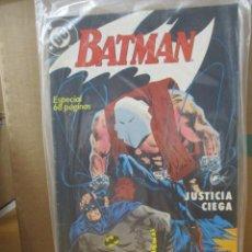 Cómics: COLECCION COMPLETA / BATMAN / JUSTICIA CIEGA / TRES EJEMPLARES 1º EDICION. Lote 219215013