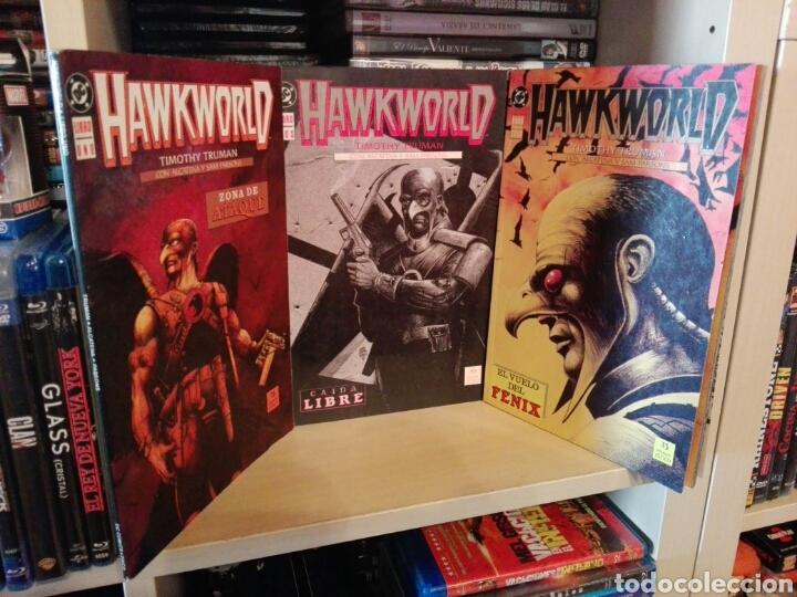 HAWKWORLD COMPLETA 3 TOMOS ZINCO (Tebeos y Comics - Zinco - Otros)