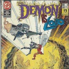 Cómics: THE DEMON CONTRA LOBO - COMPLETA - 4 NºS- BUEN ESTADO. Lote 219477037