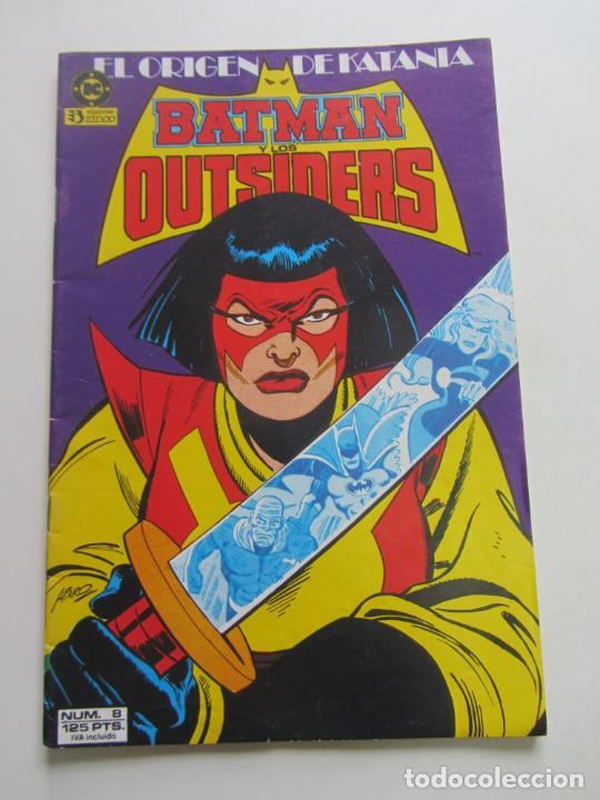 BATMAN Y LOS OUTSIDERS Nº 8 - ZINCO MUCHOS MAS A LA VENTA, MIRA TUS FALTAS BUEN ESTADO E3 (Tebeos y Comics - Zinco - Batman)