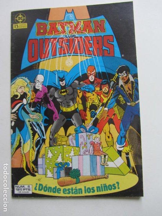 BATMAN Y LOS OUTSIDERS Nº 6 - ZINCO MUCHOS MAS A LA VENTA, MIRA TUS FALTAS BUEN ESTADO E3 (Tebeos y Comics - Zinco - Batman)