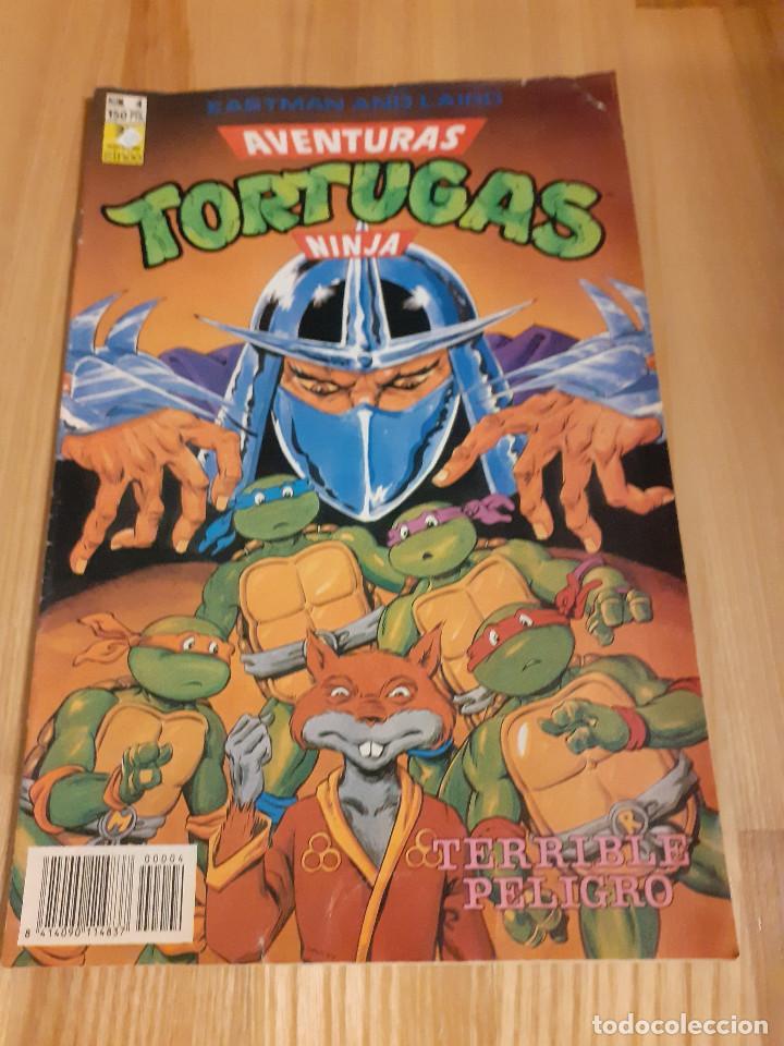 COMIC AVENTURAS TORTUGAS NINJA EDICIONES ZINCO 4 (Tebeos y Comics - Zinco - Otros)