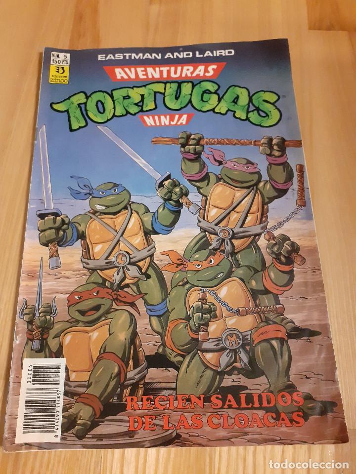 COMIC AVENTURAS TORTUGAS NINJA EDICIONES ZINCO 5 (Tebeos y Comics - Zinco - Otros)