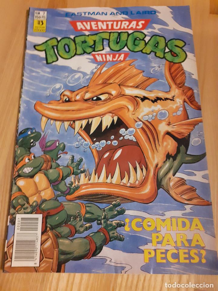 COMIC AVENTURAS TORTUGAS NINJA EDICIONES ZINCO 7 (Tebeos y Comics - Zinco - Otros)