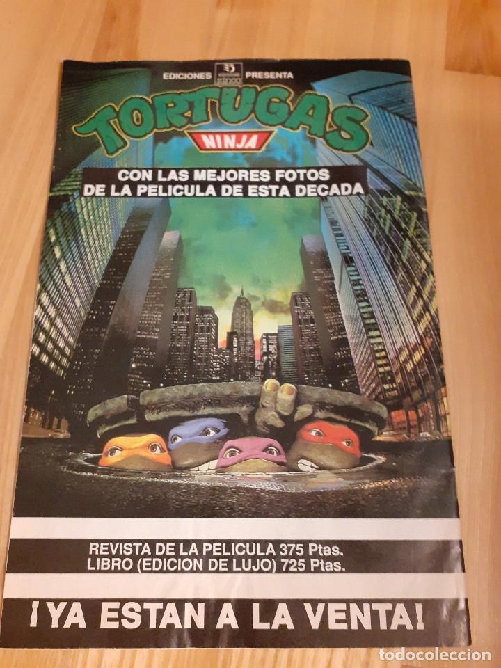 Cómics: Comic Aventuras TORTUGAS NINJA ediciones ZINCO 7 - Foto 2 - 219543415