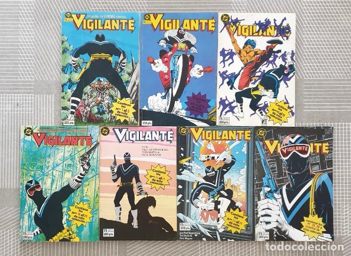 VIGILANTE DE MARV WOLFMAN. COLECCIÓN COMPLETA 7 TOMOS RETAPADOS. ZINCO 1986 (Tebeos y Comics - Zinco - Retapados)