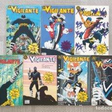 Cómics: VIGILANTE DE MARV WOLFMAN. COLECCIÓN COMPLETA 7 TOMOS RETAPADOS. ZINCO 1986. Lote 219595827