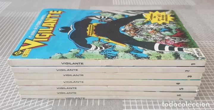 Cómics: VIGILANTE de Marv Wolfman. Colección completa 7 tomos retapados. Zinco 1986 - Foto 2 - 219595827