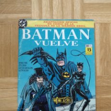 Cómics: COMIC BATMAN VUELVE. ADAPTACION OFICIAL DE LA PELICULA. ZINCO. Lote 219624477