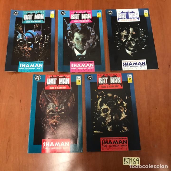 LEYENDAS DE BATMAN - DC DEL 1 AL 5 (Tebeos y Comics - Zinco - Batman)
