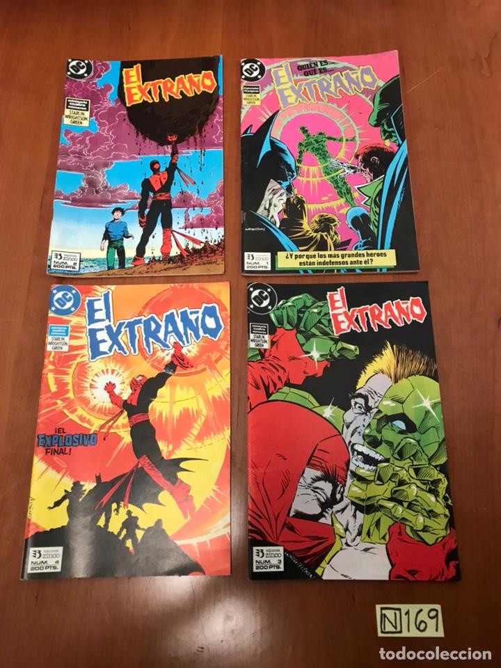 EL EXTRAÑO DC - SERIE DE 4 NÚMEROS (Tebeos y Comics - Zinco - Otros)