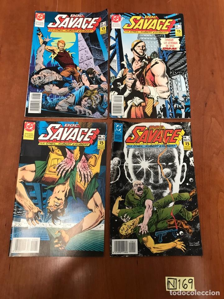 LOTE DE COMICS - DOC SAVAGE - DC (Tebeos y Comics - Zinco - Otros)
