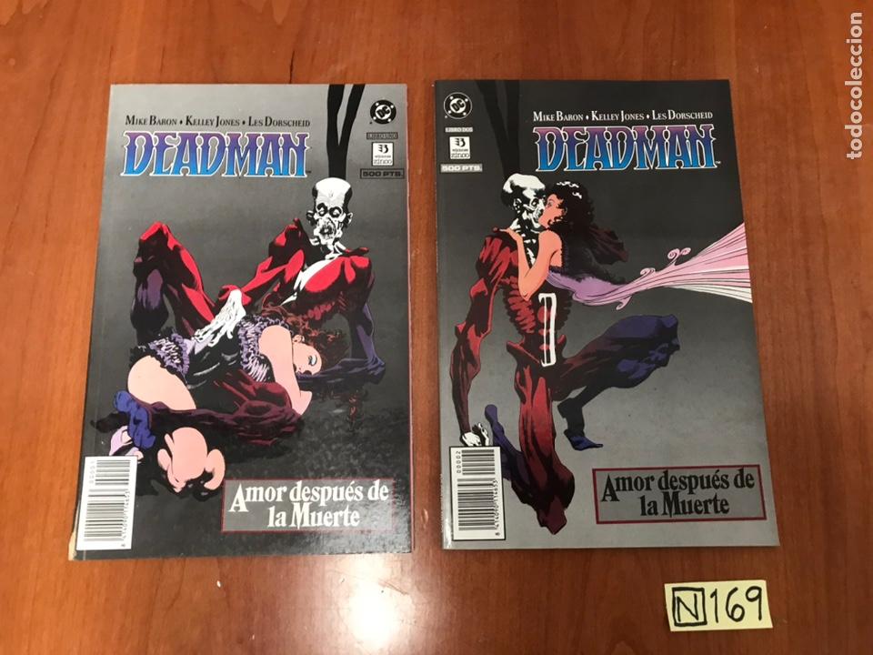 DEADMAN AMOR DESPUES DE LA MUERTE (EDICIONES ZINCO) - COLECCION COMPLETA 2 NUMS. (Tebeos y Comics - Zinco - Otros)