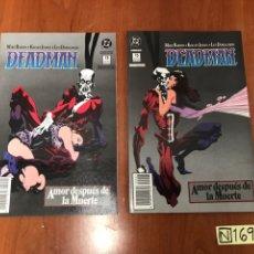 Cómics: DEADMAN AMOR DESPUES DE LA MUERTE (EDICIONES ZINCO) - COLECCION COMPLETA 2 NUMS.. Lote 219860407