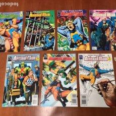Cómics: ANIMAL MAN (EDICIONES ZINCO) - 7 NUMS.. Lote 219863587