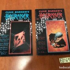 Cómics: CLIVE BARKER'S HELLRAISER (EDICIONES FORUM) - 2 NUMS. Lote 219865070
