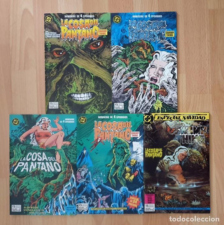 LA COSA DEL PANTANO V2 DE ALAN MOORE. COMPLETA 4 COMICS + ESPECIAL. ZINCO 1988 (Tebeos y Comics - Zinco - Cosa del Pantano)