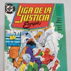 Cómics: LIGA DE LA JUSTICA EUROPA Nº 2 / DC - ZINCO. Lote 220355496