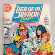 Cómics: LIGA DE LA JUSTICA EUROPA Nº 1 / DC - ZINCO. Lote 220355562