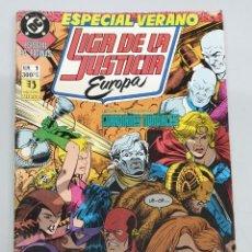 Cómics: LIGA DE LA JUSTICA EUROPA ESPECIAL VERANO / DC - ZINCO. Lote 220355603