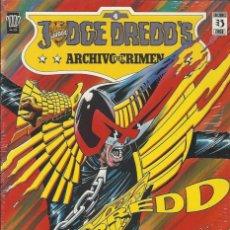 Cómics: JUDGE DREDD JUEZ DREDD ARCHIVOS DEL CRIMEN Nº 4- PRECINTADO, A ESTRENAR !!!. Lote 220365812