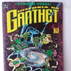 Cómics: LINTERNA VERDE: HISTORIA DE GANTHET. Lote 220371891