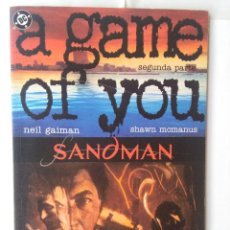 Cómics: A GAME OF YOU - COMPLETA. Lote 220387778