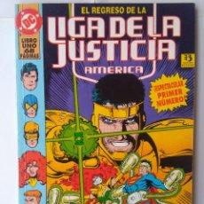 Cómics: EL REGRESO DE LA LIGA DE LA JUSTICIA AMERICA-LIBRO UNO 68 PÁGINAS. Lote 240052055