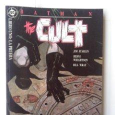 Cómics: BATMAN-THE CULT-LIBRO UNO:LA PRUEBA. Lote 217674032
