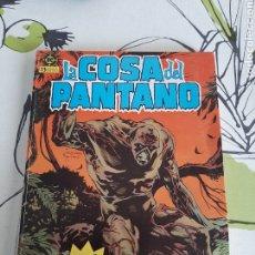 Cómics: LA COSA DEL PANTANO RETAPADO CON LOS 5 PRIMEROS DEL VOLUMEN UNO DE EDICIONES ZINCO. Lote 220507085