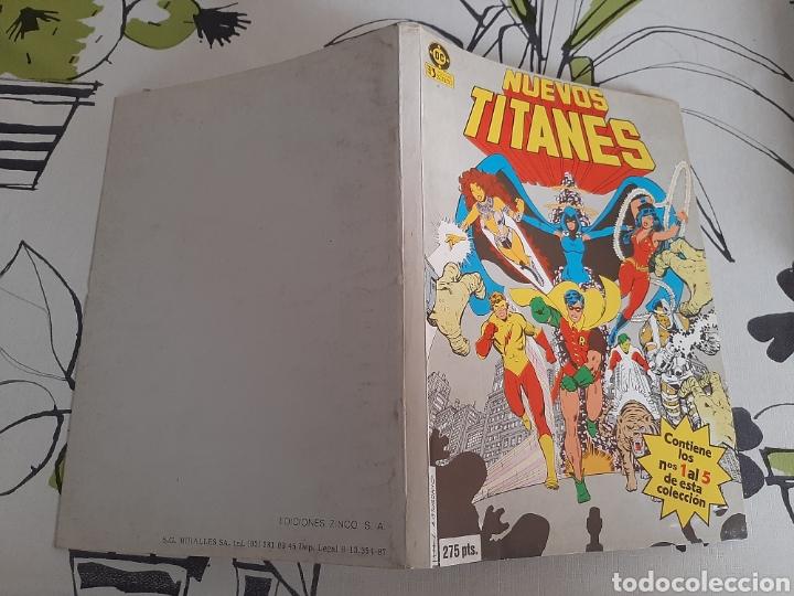 Cómics: Nuevos Titanes retapado con los 5 primeros números del volumen uno, los grandes - Foto 2 - 220508172