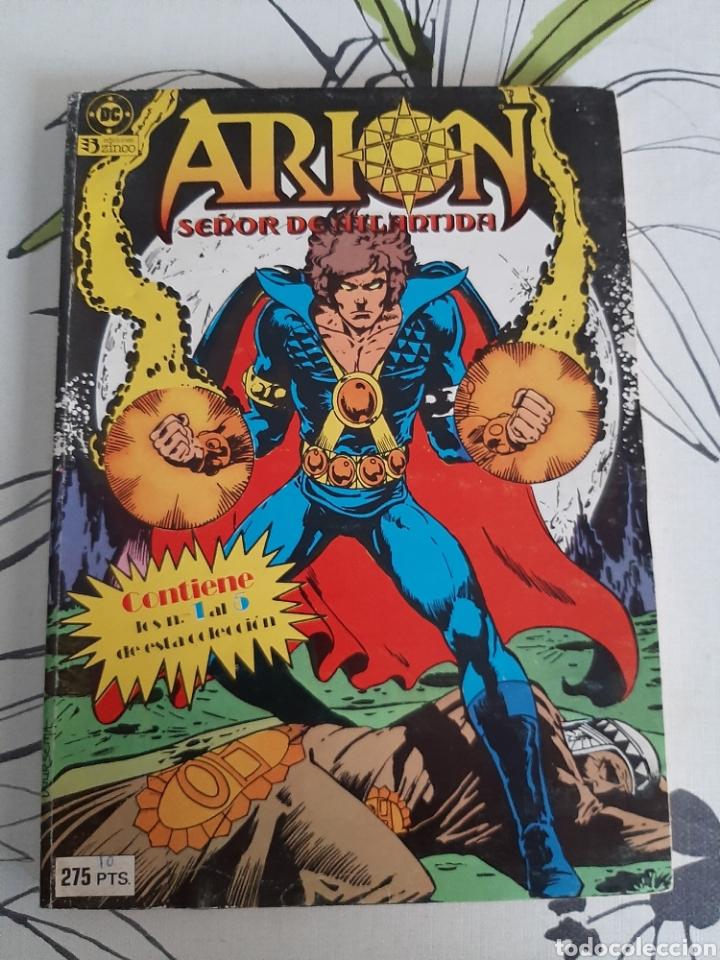 ARION SEÑOR DE LA ATLANTIDA RETAPADO CON LOS 5 PRIMEROS EDICIONES ZINCO (Tebeos y Comics - Zinco - Retapados)