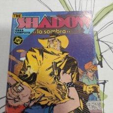 Cómics: THE SHADOW , LA SOMBRA OBRA COMPLETA EN UN RETAPADO SIENKIEWICZ. Lote 220522923