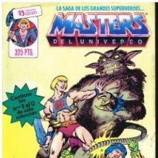 Cómics: MASTERS DEL UNIVERSO N 3. CONTIENE LOS NOS 9, 10, 11 Y 12 -. Lote 220619980