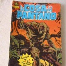 Cómics: LA COSA DEL PANTANO Nº 1 AL 5 EDICIONES ZINCO. Lote 220665308