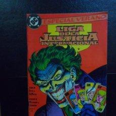 Cómics: LIGA JUSTICIA INTERNACIONAL Nº 3 ESPECIAL VERANO EDICIONES ZINCO. Lote 220779480