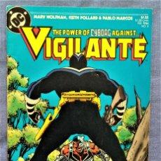 Cómics: VIGILANTE Nº 3 - EL PODER DE CYBORG CONTRA VIGILANTE - ZINCO. Lote 220789165