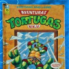 Cómics: AVENTURAS DE LAS TORTUGAS NINJA - COMIC Nº 2. Lote 237207225