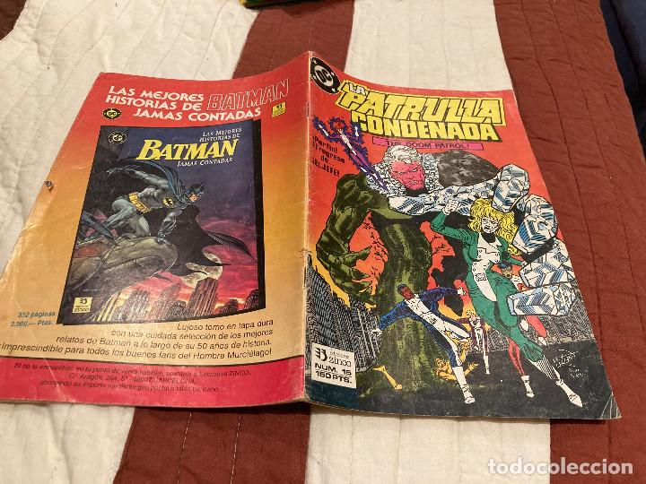 LA PATRULLA CONDENADA Nº 15 EDICIONES ZINCO (Tebeos y Comics - Zinco - Patrulla Condenada)