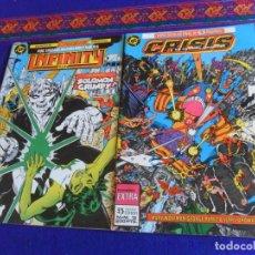 Cómics: ZINCO CRISIS EN TIERRAS INFINITAS Nº 12 EXTRA Y ÚLTIMO. 200 PTAS 1987. REGALO INFINITY INC. Nº 20.. Lote 220838505
