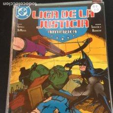 Cómics: ZINCO DC LIGA DE LA JUSTICIA DE AMERICA NUMERO 20 BUEN ESTADO. Lote 220840456