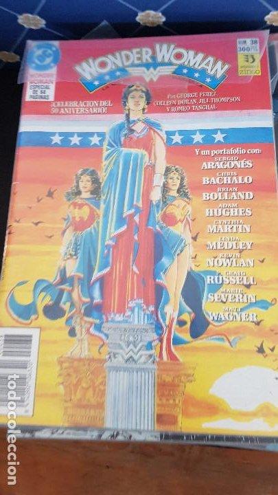 WONDER WOMAN COLECCION COMPLETA 38 NUMEROS (Tebeos y Comics - Zinco - Otros)