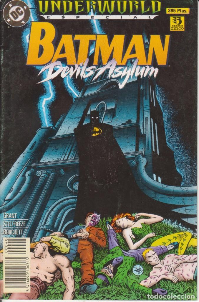 COMIC BATMAN DEVILS ASYLUM ESPECIAL UNDERWORLD ED.ZINCO 52 PGS. 1995 (Tebeos y Comics - Zinco - Batman)