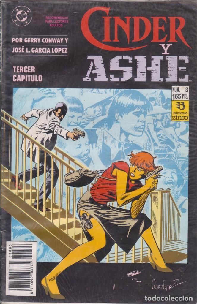 COMIC CINDER Y ASHE Nº 3 ED.ZINCO (GERRY CONWAY / J.L.GARCÍA LÓPEZ) (Tebeos y Comics - Zinco - Otros)
