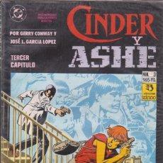 Cómics: COMIC CINDER Y ASHE Nº 3 ED.ZINCO (GERRY CONWAY / J.L.GARCÍA LÓPEZ). Lote 220863842